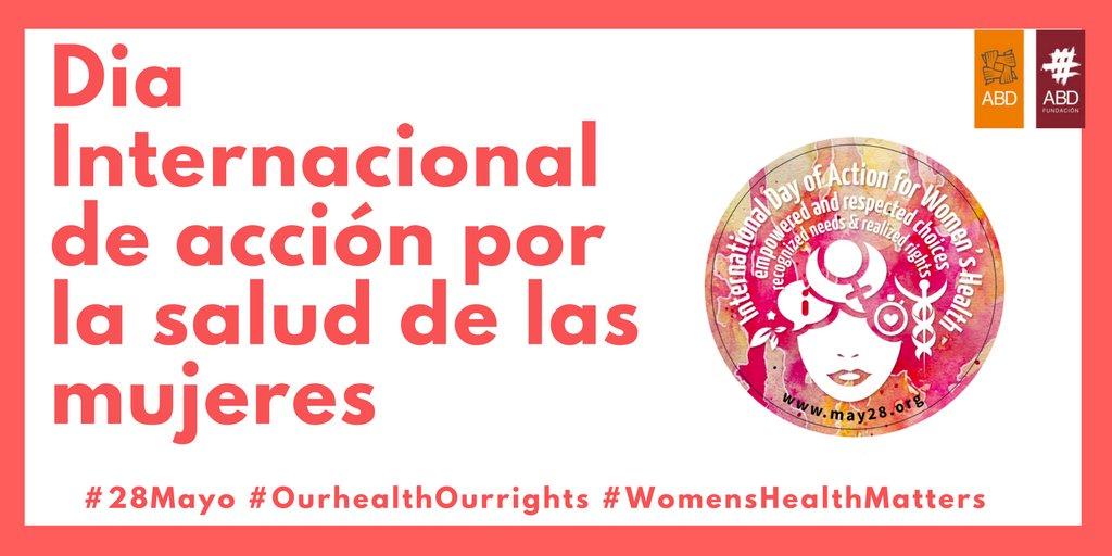 test Twitter Media - 🚺📣 Hoy en el Día Internacional de acción por la salud de las mujeres, ¡Levantemos la voz! #OurhealthOurrights #WomensHealthMatters https://t.co/KlNzY5zq35