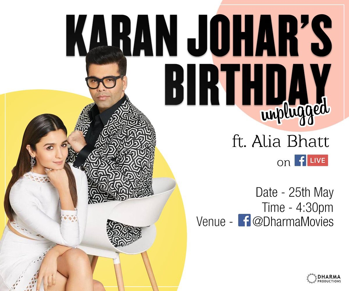 My first Facebook live chat with @aliaa08 tomorrow!!!