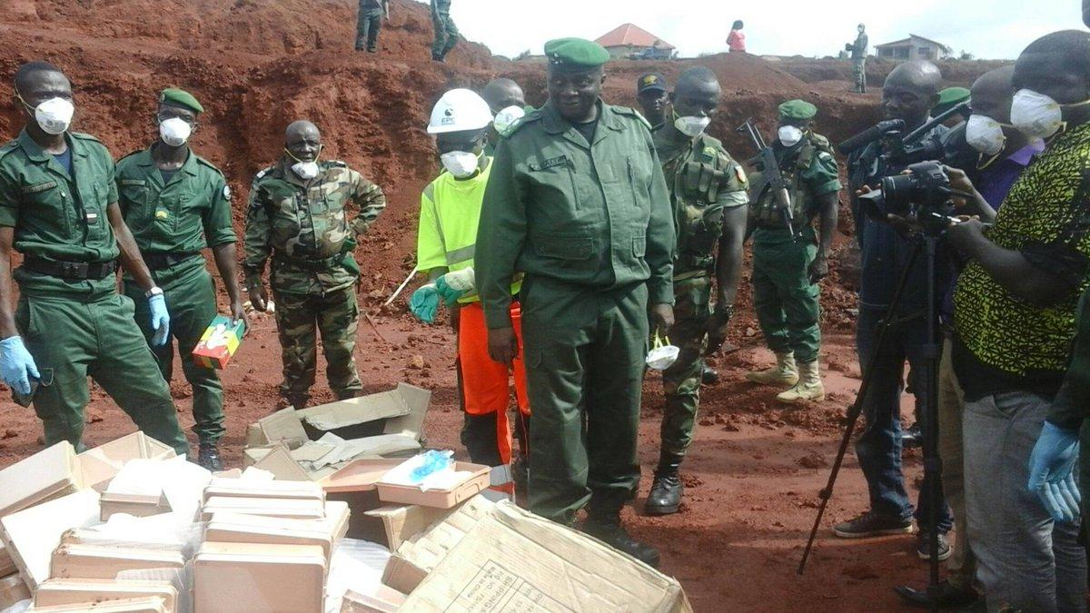 Guinée: qui a importé la substance servant à la fabrication d'explosifs?