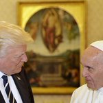 'We can use peace': Donald Trump and Pope Francis meet
