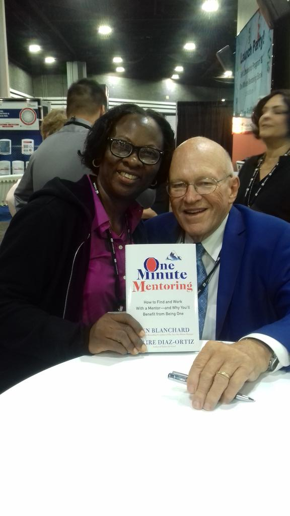 Eno from Nigeria with Ken Blanchard  #ATD2017 https://t.co/w9d8bPreFm