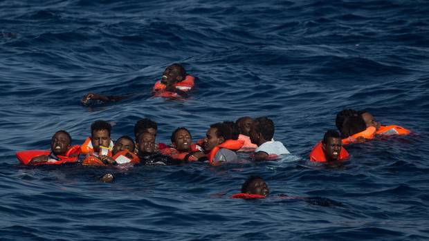 More than 30 migrants, mostly toddlers, drown off Libya: rescuers