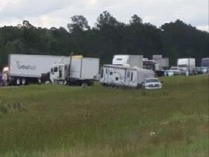 4 dead in I-10 crash near Gautier; traffic backed up for miles