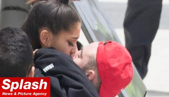 Ariana Grande reunites with boyfriend Mac Miller as she returns to the US after Manchester suicide bombing