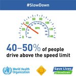 Reducing speed to save lives