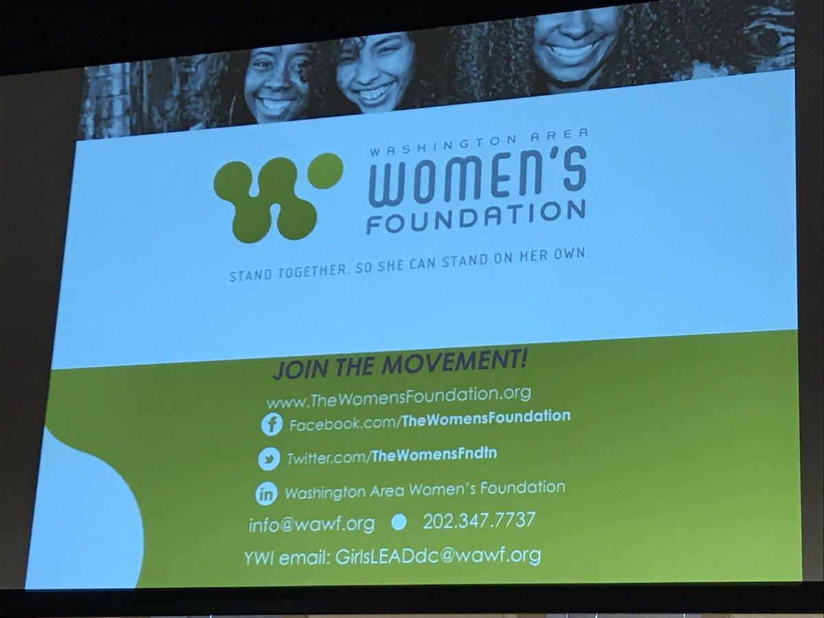 test Twitter Media - Celebrating the new Young Women's Initiative with @TheWomensFndtn #GirlsLEADdc #G4GC @Blacksocialchng https://t.co/voSRgen8TN