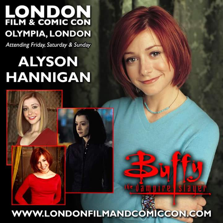 RT @Showmasters: #LFCC #London @alydenisof #Buffy #howimetyourmother #buffythevampireslayer https://t.co/0HQr2LzvIz