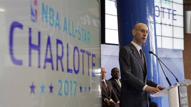 NBA returns all-star game to North Carolina after transgender law lifted From @Globe_Sports