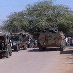 Eight police killed in two Kenya roadside bombings