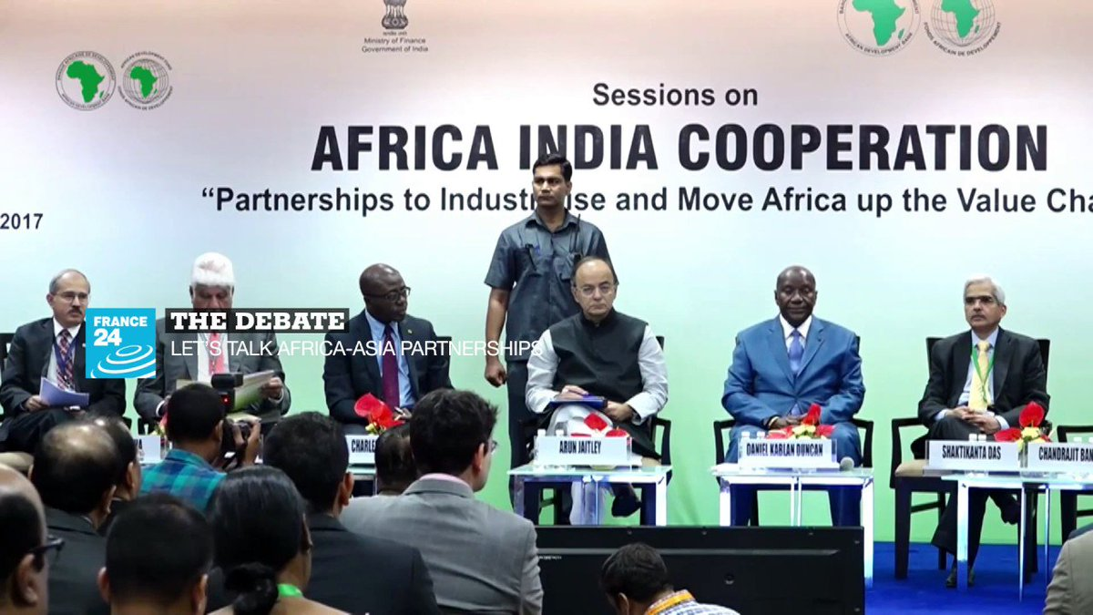 ?? THE DEBATE Let's talk Africa-Asia Partnerships