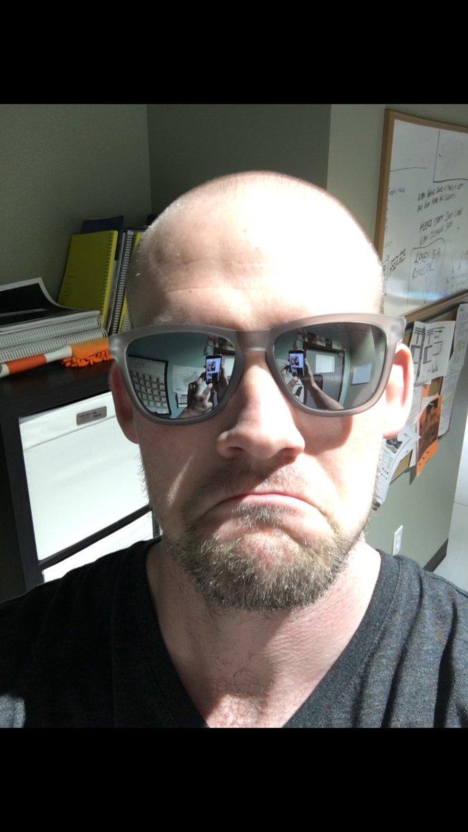 test Twitter Media - Drew's idea for promoting new @goodr sunglasses. Not sure. Maybe smile? https://t.co/NWQkgVm5iz