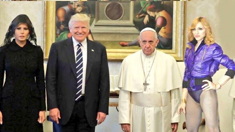 #TrumpinItalia