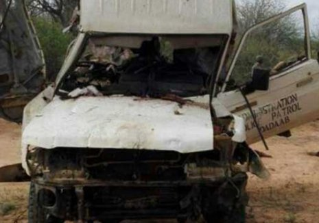 Five police officers killed as Mandera governor survives IED attack