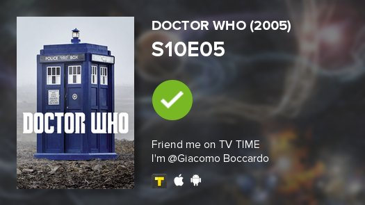 test Twitter Media - I've just watched episode S10E05 of Doctor Who (2005)! #doctorwho  https://t.co/rIli080wMN https://t.co/QDC0pvy8gg