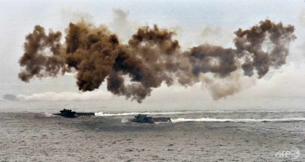 Taiwan war games simulate China invasion