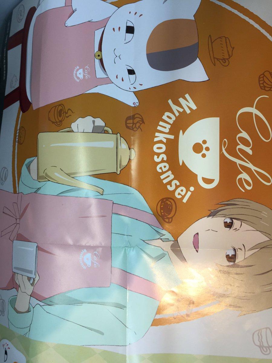 【プライズ】新景品☆夏目友人帳ニャンコ先生かふぇでっかいころりんクッション かふぇはじめました が登場っっ!!顔型の可愛
