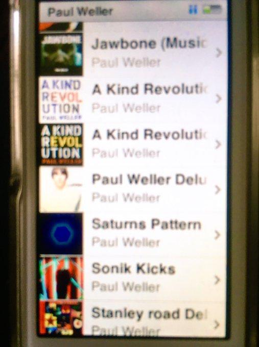 Happy Birthday! Paul Weller!!                          Let It Be Me Studio 150