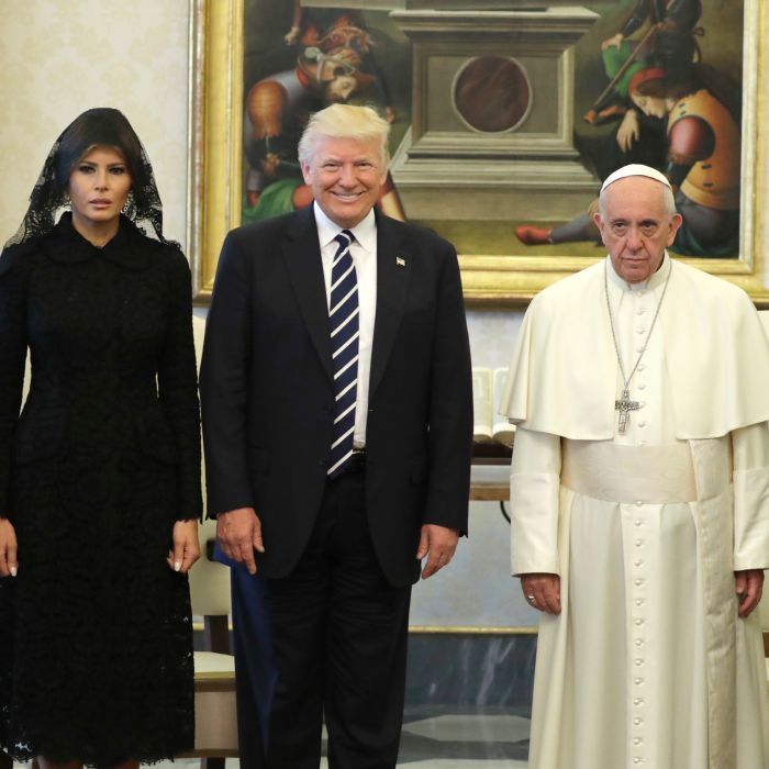 Trump given Pope's climate change essay in Vatican meeting