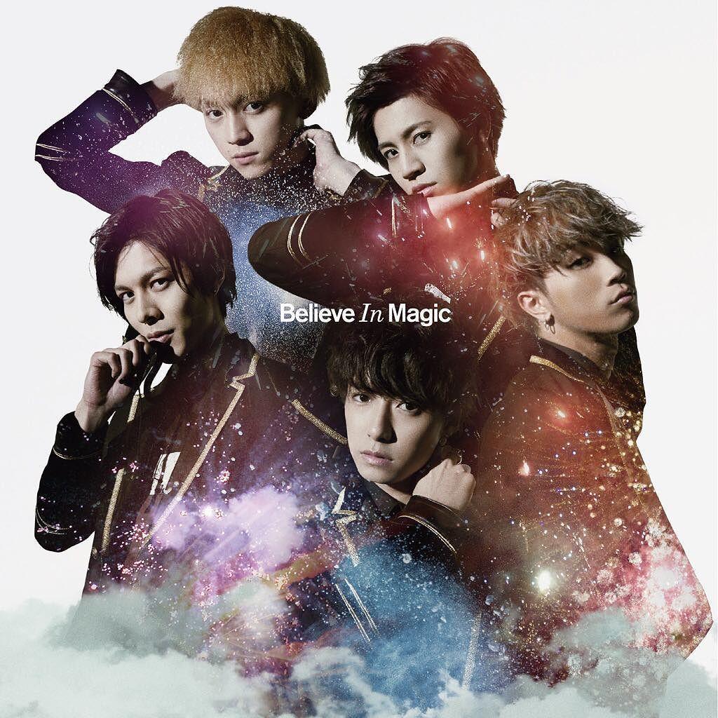 4th Single「Believe In Magic」[CD+DVD]ジャケット公開!#ryoga#龍雅#believ