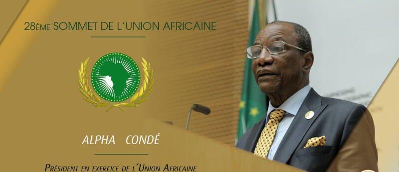 Fête de l'UA : Alpha Condé s'adresse à l'Afrique (discours)   Guinee7.com