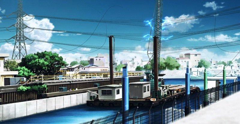 京都・伏見などで6万軒が一時停電 5/25 10:42#残響のテロル 1.FALLING クレーン船が旧江戸川の送電線を