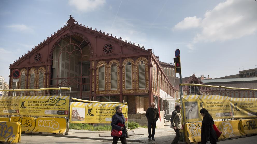 El mercado de Sant Antoni retrasa su reapertura hasta la primavera del próximo https://t.co/OBjmBDWOYA https://t.co/FMsOtYFj8g