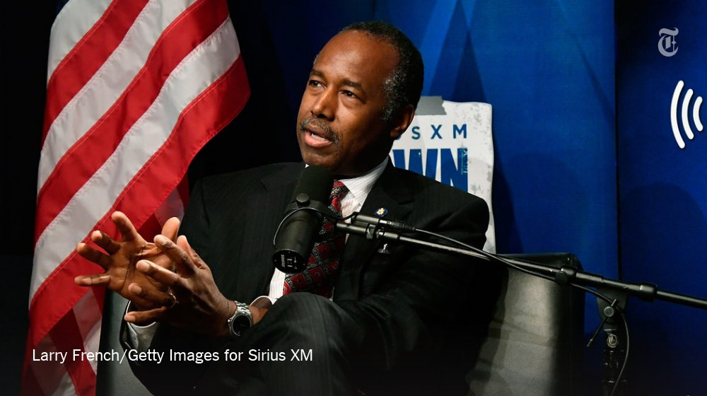"""Ben Carson """"I think poverty to a large extent is also a state of mind"""""""