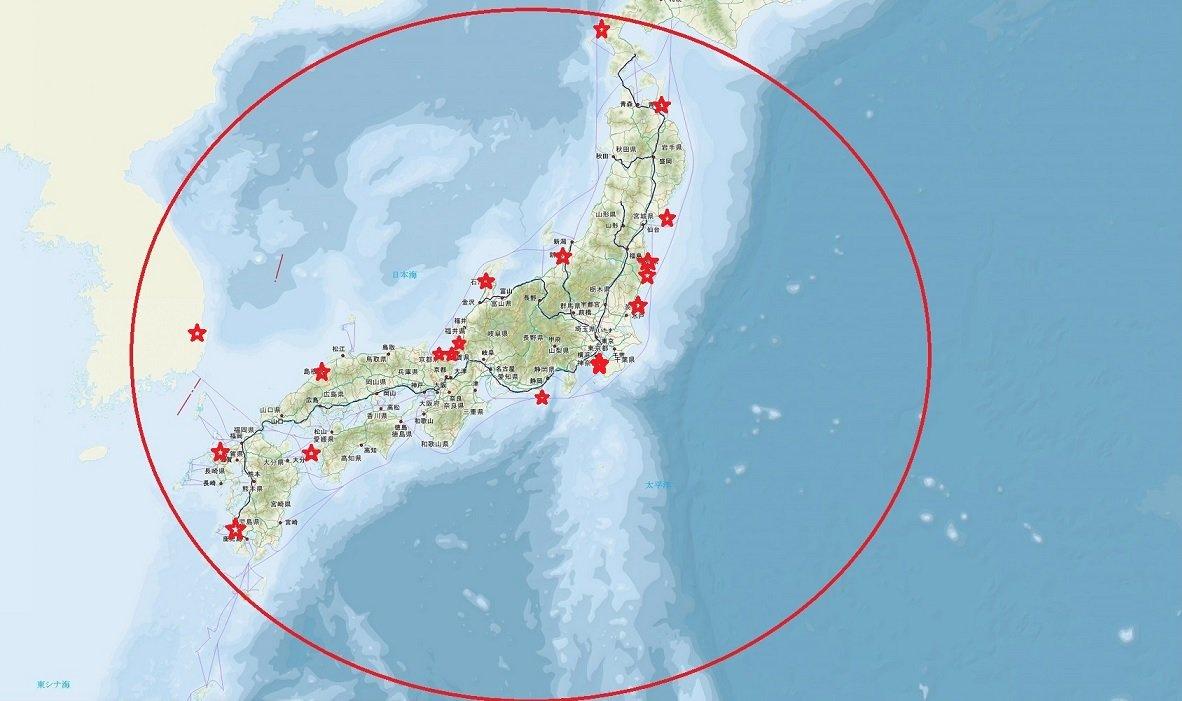 #残響のテロル 頻出状況4/16 4/27 4/29 5/02 5/06 5/10 5/15 5/20余程日本に #EM