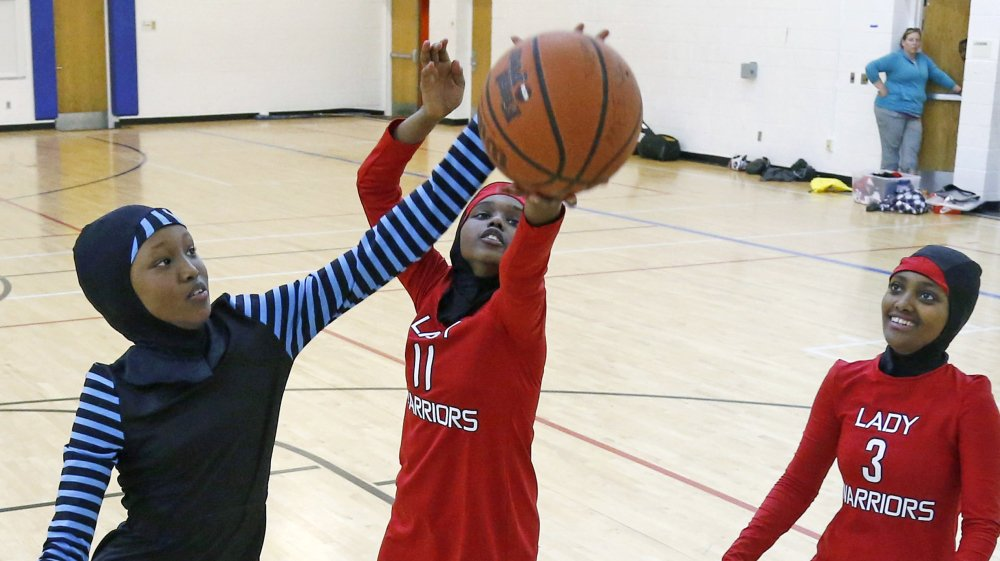 "Opinion: ""It is about basketball doing hijab, because it can."""