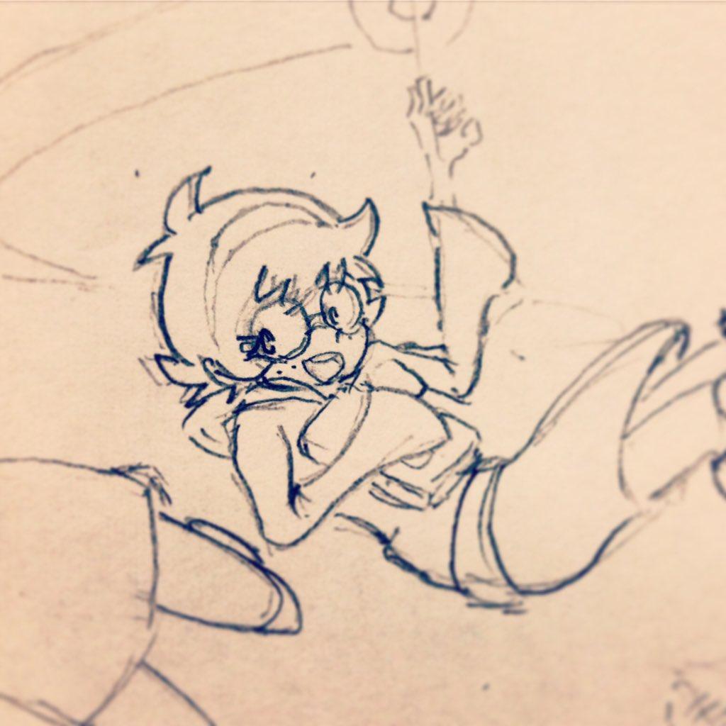 ロッテ初めて描いたけどめちゃうまくいった。#LWA_jp