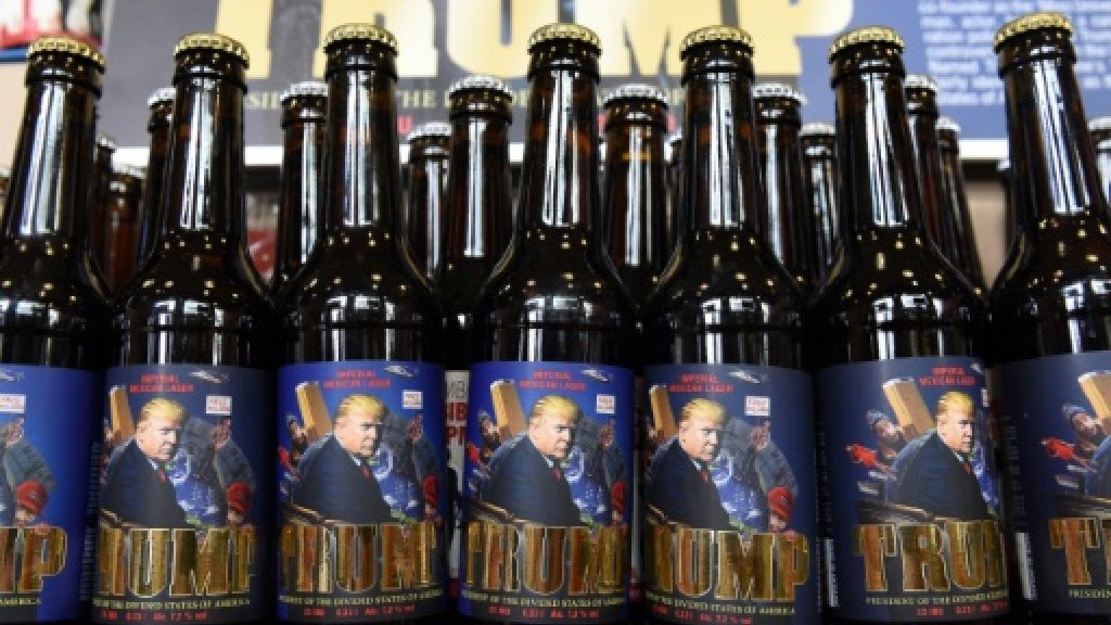 Ukraine brews up Trump beer with a Putin twist