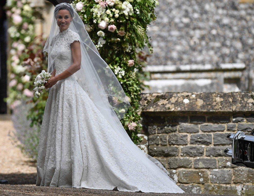 【写真特集】キャサリン妃の妹ピッパさん挙式! ページボーイとブライズメイドにはジョージ王子とシャーロット王女も。
