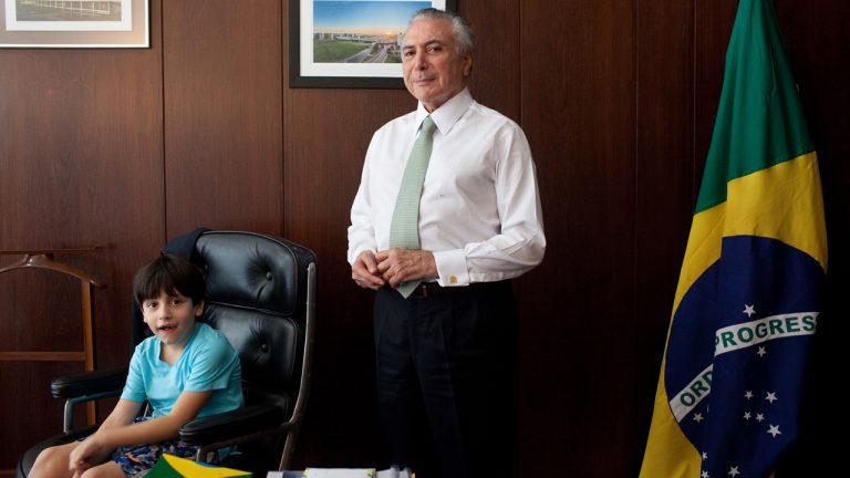 Servidora apontada como babá de Michelzinho é nomeada em novo cargo na Presidência.