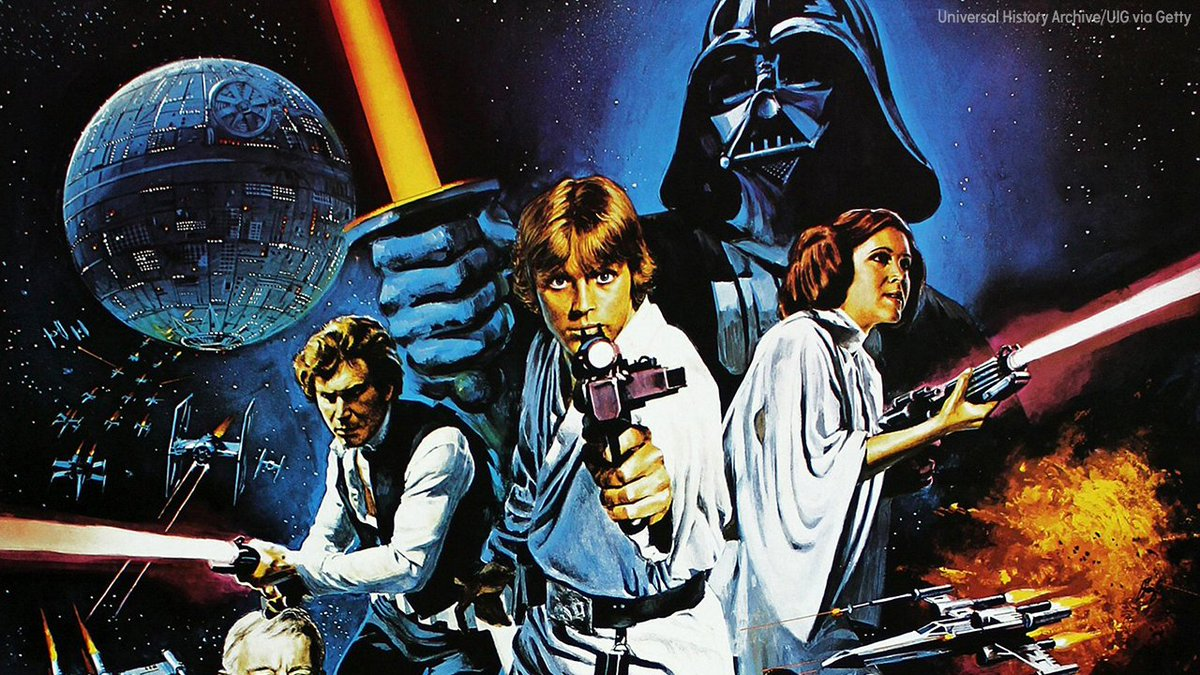 "This day in history On this day 40 years ago, ""Star Wars"" premiered #StarWars40th"
