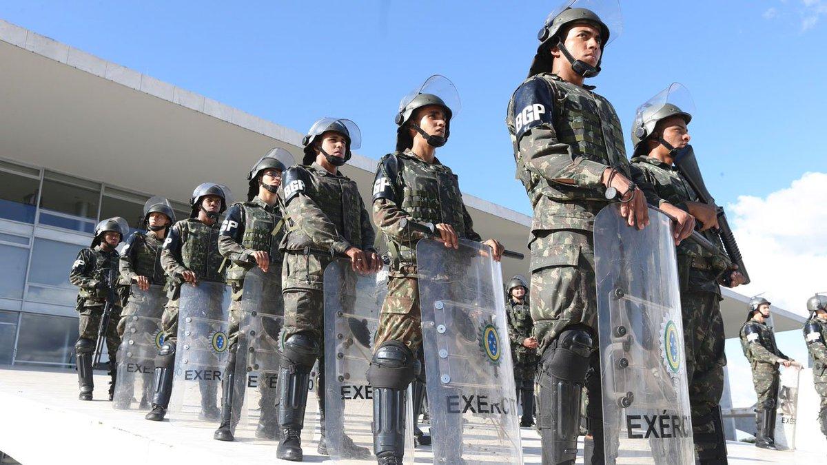 Temer revoga decreto que convocou Forças Armadas -