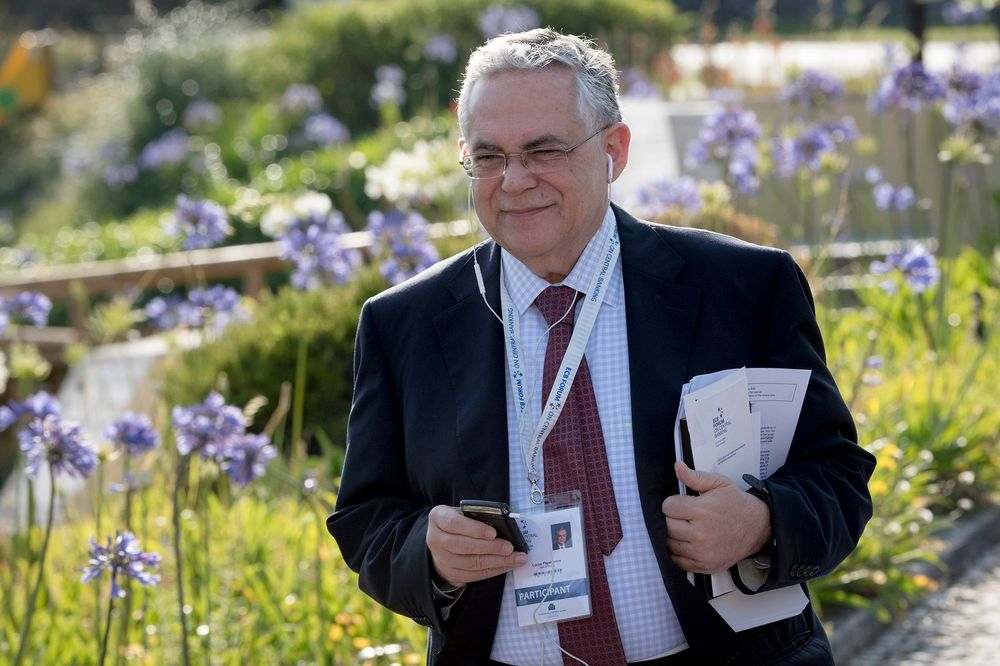 Former Greek Prime Minister Lucas Papademos is wounded in an Athens bombing