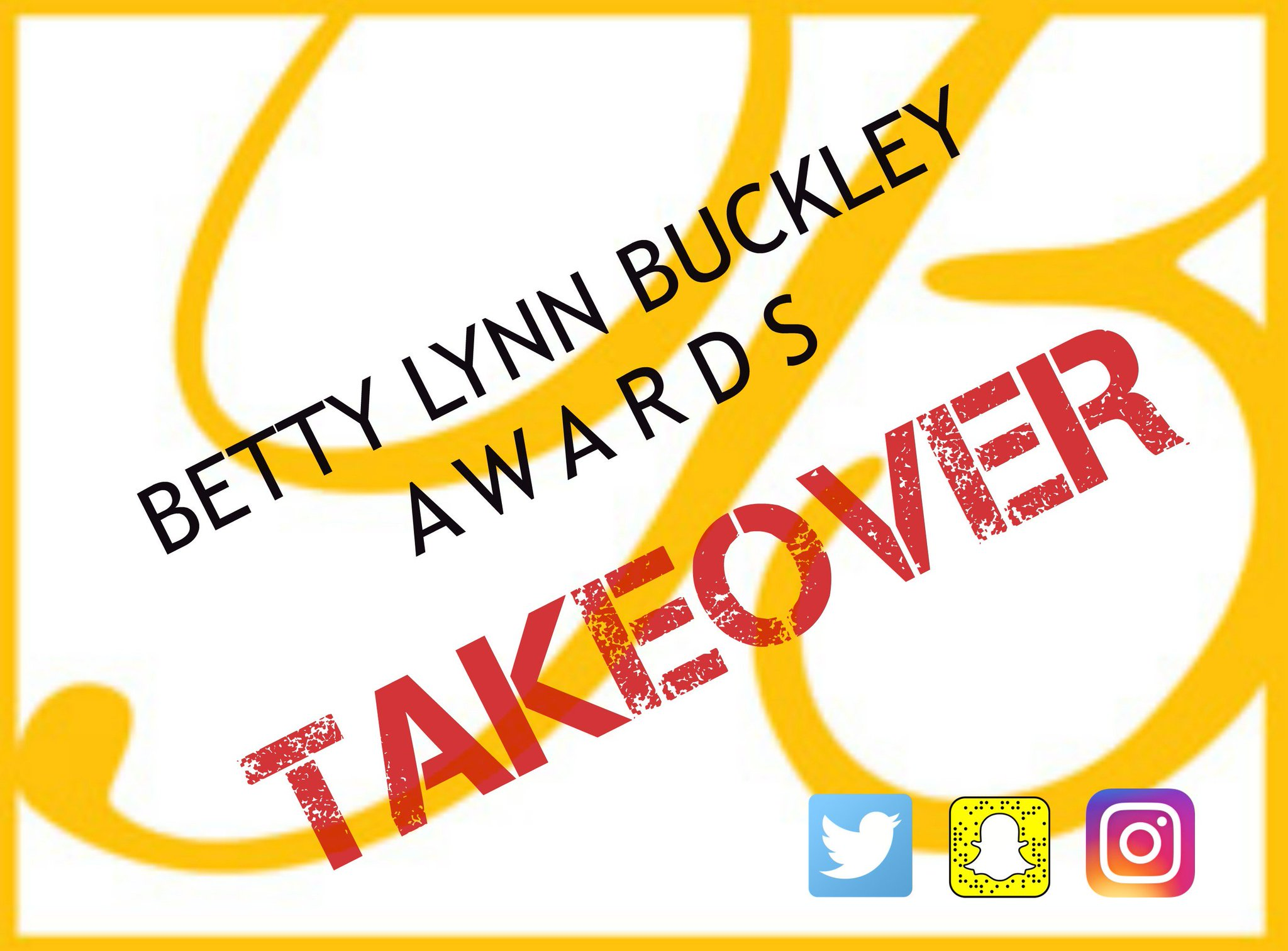 IT'S BUCKLEY TIME! Keep watch all day for sneak peeks into the process, rehearsal footage, interviews, winners, and more! @BettyBuckley https://t.co/6stkeamy6D