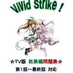 今回は、昨年「前編」「後編」として頒布した「Vivid Strike!問題集」を1冊にまとめた『総集編』を頒布させていた