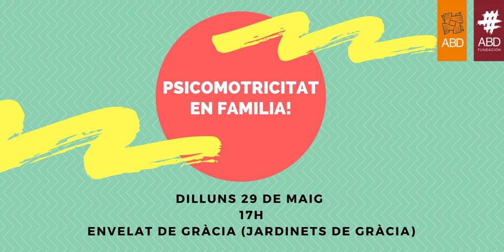 test Twitter Media - 📆👨👩👧👦 Demà dilluns 29 a les 17h Psicomotricitat en família a l'envelat de #Gràcia. Us ho perdreu?  #200FestaGracia https://t.co/OrktijHloQ