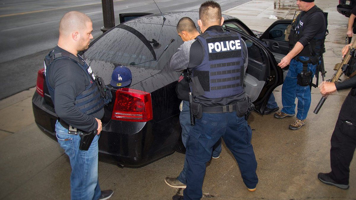 #BREAKINGNEWS ICE arrests 188 people in greater LA area during 5-day operation, agency says