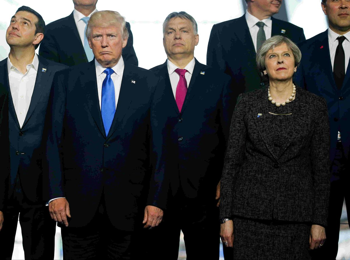 Trump's right hand has had a rough week—now he used it to shove a NATO leader