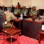 Museveni briefs Nigerian army on national security