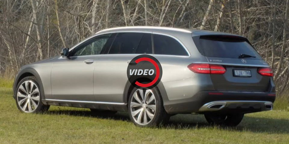 Can The Mercedes E-Class All-Terrain Become Australia's Luxury Wagon Of Choice?
