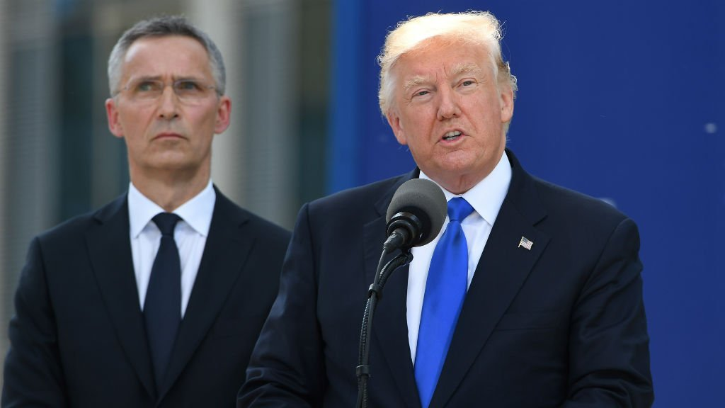 Trump calls on NATO leaders to pay their fair share