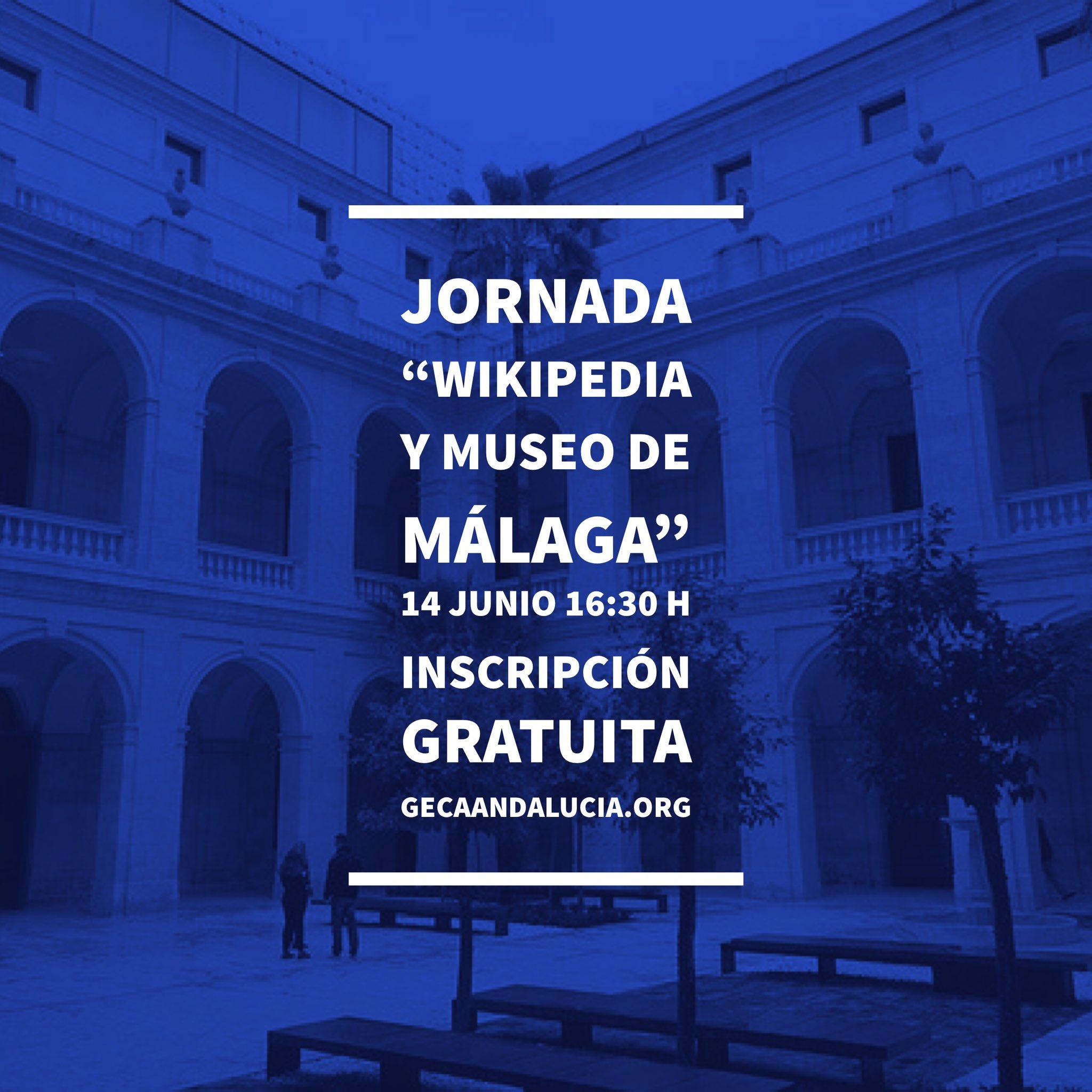 Pues estamos tramando algo con muy buena pinta en #Málaga Wikipedia y #Museos  https://t.co/yLEaWhwoiz https://t.co/0XSbb6P8Dl