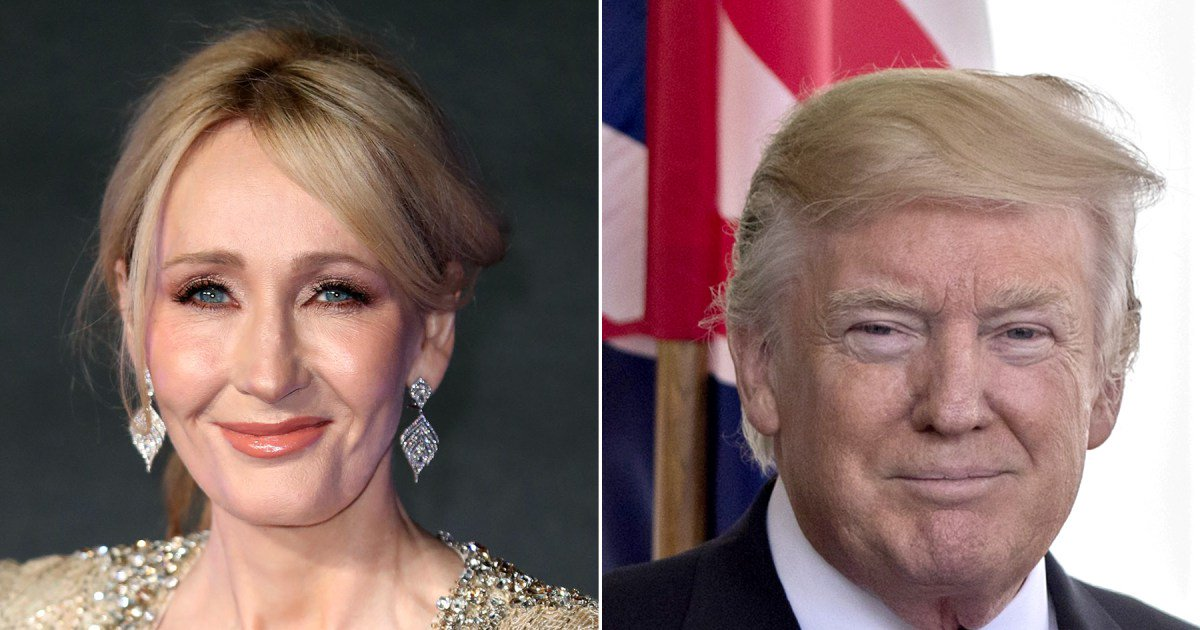 "J.K. Rowling blasts viral Trump NATO video: ""Tiny little man"""
