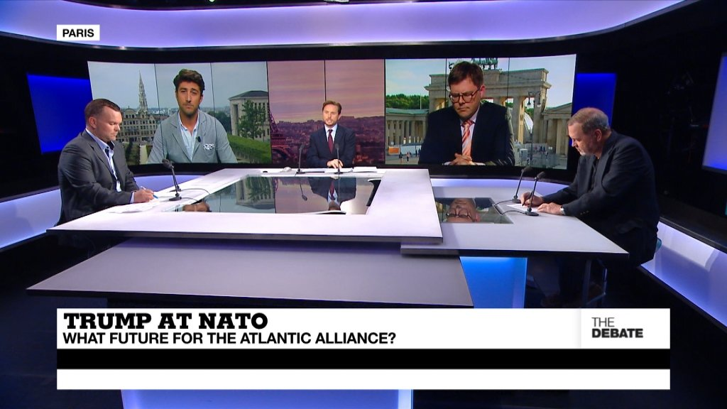 THE DEBATE - Trump at NATO: What future for the Atlantic Alliance? (part 2)