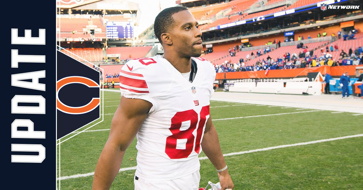 The Bears and WR Victor Cruz have agreed in principle. It's a 1-year deal.(via @RapSheet and (@KimJonesSports)