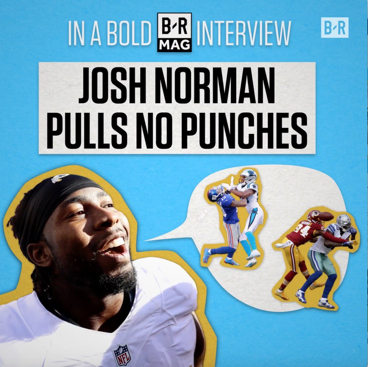 Josh Norman gets real about facing OBJ and Dez #BRmag➡️