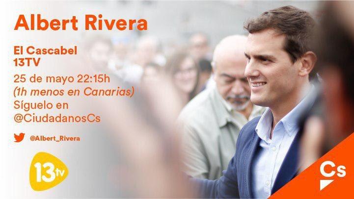 Esta noche me entrevistan en @ElCascabel13tv en @13tv_es . Os espero .